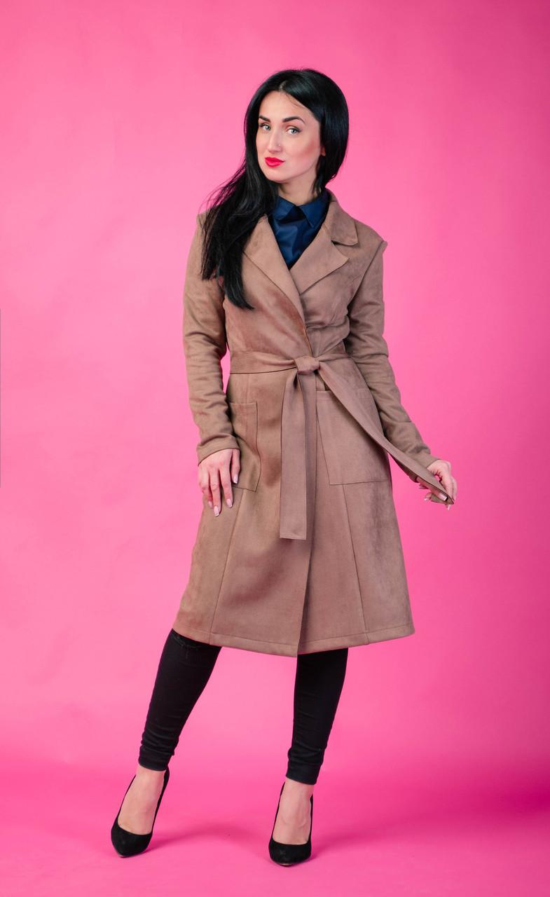 d7bfba13f89 Женское Замшевое Пальто — в Категории