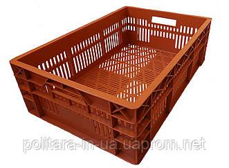 Ящик для сбора овощей цветной 600х400х180