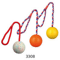 Мяч апортировочный Trixie, 7см/30см, 3308