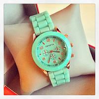 Женские часы Geneva Luxury мятные