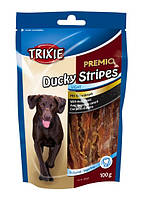 Лакомство для собак Trixie Premio Ducky Stripes, утка, 100г