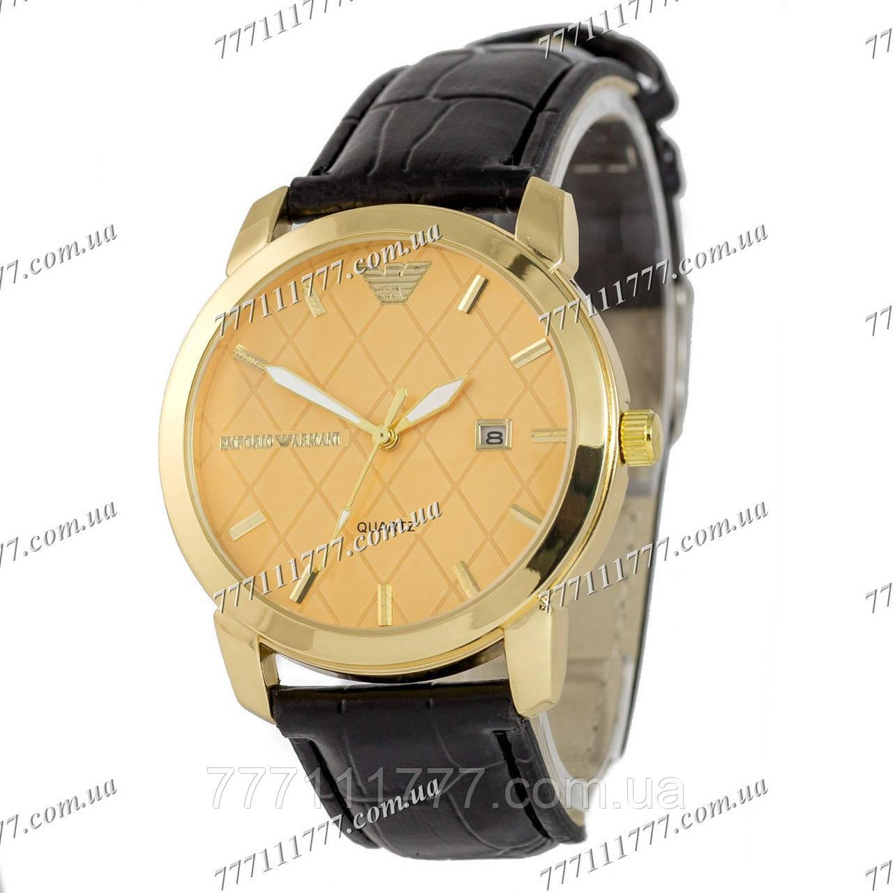 cfa8a5a2 Часы мужские наручные Armani Quartz B65 Black/Gold/Gold: продажа ...