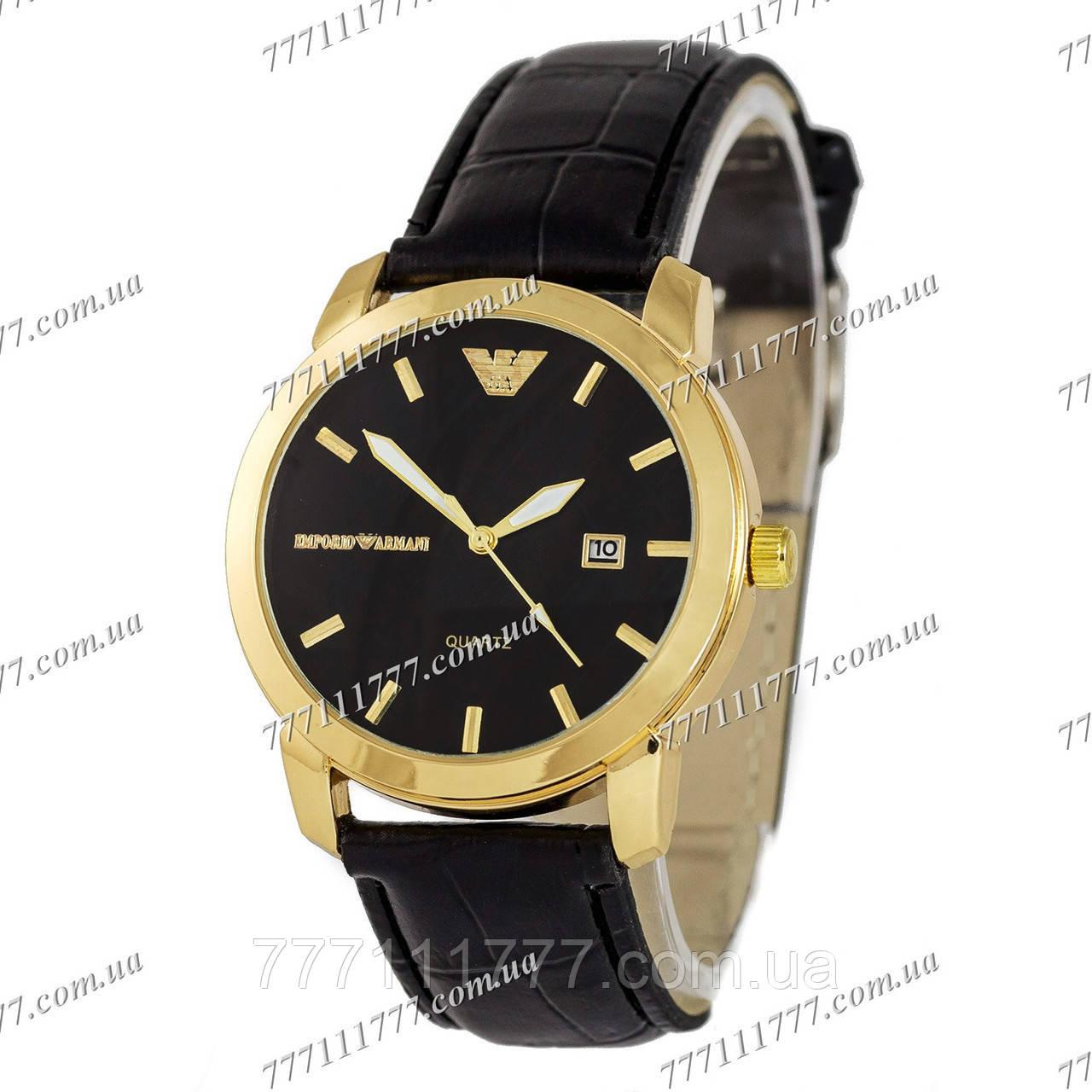 1295ad02 Часы мужские наручные Armani Quartz B65 Black/Gold/Black: продажа ...