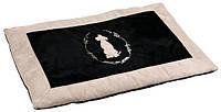 Коврик для собак Trixie King of Dogs, 100*70см, черный/бежевый