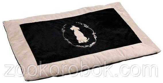 Коврик для собак Trixie King of Dogs, 100*70см, черный/бежевый, 37963