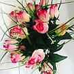 Искусственные розы с осокой., фото 4