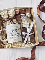 Подарочный набор Best Mam Ever для мамы чашка, кофе, шоколад (на подарок)