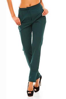 Легкие женские брюки Сислей, изумрудный