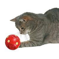 "Кормушка-мяч для кота Trixie ""Snacky"", 7,5 см"