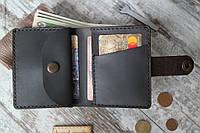 """Шкіряний гаманець """"Public"""", ручної роботи, натуральна шкіра, фото 1"""