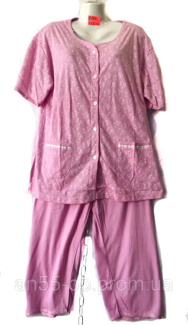 d9167e92fe39 Пижама женская полу батан (P .XL-5XL) купить оптом производителя (7км Одессе)  ...