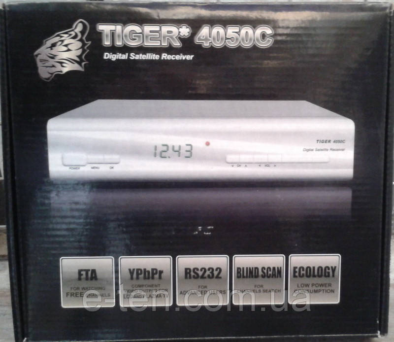 Супутниковий SDTV ресивер Tiger 4050C