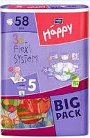Подгузники Happy Bella 5  58 шт Big Pack