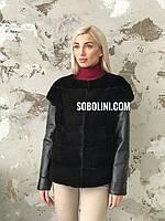 Куртка-трансформер из норки, размеры 44/46, фото 1