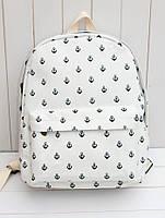 Городской практичный рюкзак. Стильный  рюкзак. Рюкзак женский.  Современные рюкзаки.Код: КРСК37, фото 1
