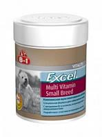Витамины 8 in 1 Excel Multi Vitamin Small Breed, для собак маленьких пород, 150ml/70табл.