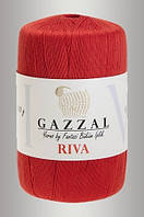Газзал Рива (Gazzal Riva) 100г/500м 161 красный