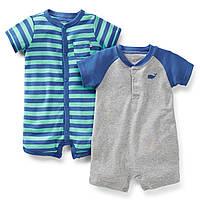 Детские песочники для мальчика Carters (2 шт)  9 месяцев