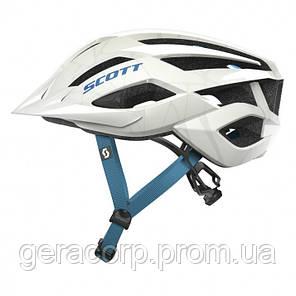 Велосипедная каска SCOTT ARX MTB  белая, фото 2