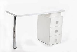 Манікюрний стіл на три ящики М110 Тріумф