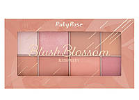 Blush Blossom Палетка румян Ruby Rose Blush Palette НВ-6112