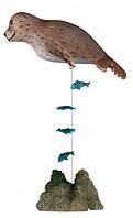 Декор д/акв морской котик с якорем Trixie 12 см