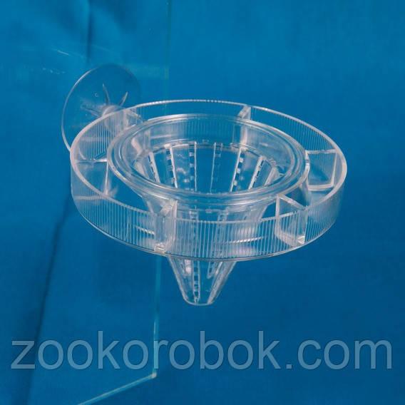 Кормушка для аквариума Trixie круглая, 7 см