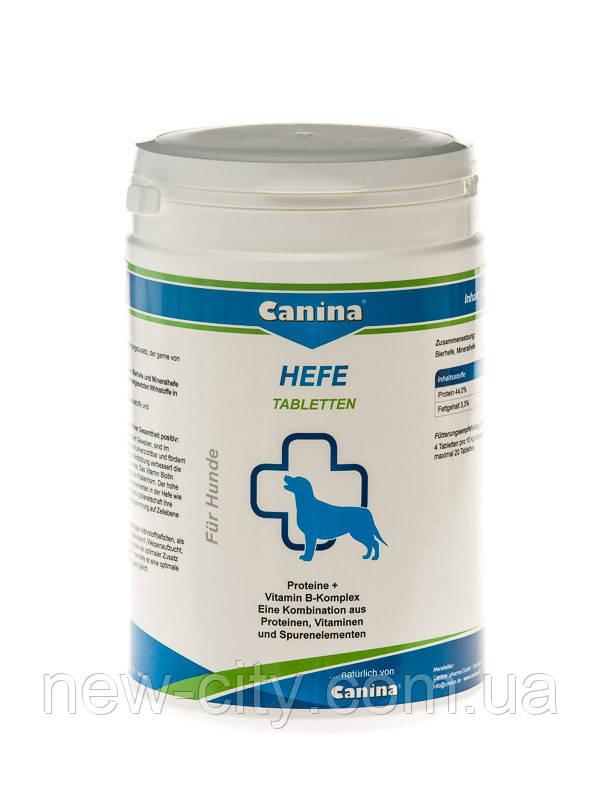 Canina HEFE 992  дрожжевые таблетки с энзимами и ферментами