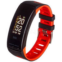 Фитнес-браслет GARETT Fit 23 GPS  черно-красный