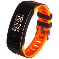 Фитнес-браслет GARETT Fit 23 GPS  черно-оранжевый