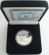 Рік Бика Год Быка Срібна монета 5 гривень срібло 15,55 грам, фото 3