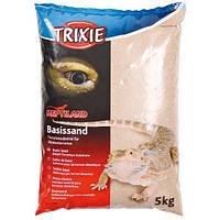 Наполнитель-песок желтый д/террариума Trixie 5 кг