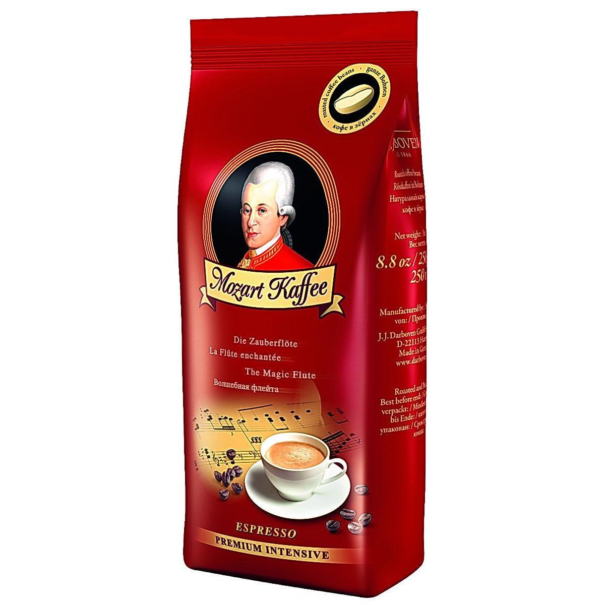 Кофе зерно Моцарт Espresso Premium Intensive  Darboven  250 гр