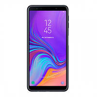 "Смартфон Samsung SM-A750F Galaxy A7 2018 DS Black черный (2SIM) 6"" 4/64GB 24+8+5/24Мп 3G 4G Гарантия!"