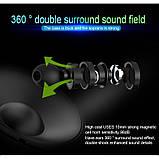 Беспроводные bluetooth наушники Hongsund X3 HD Stereo Heavy Bass магнитные, фото 10