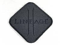 Нашивка Lineage цвет черный 80х80 мм