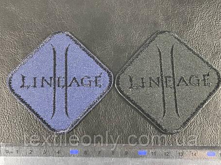 Нашивка Lineage цвет темно синий 80х80 мм , фото 2