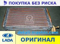 Радиатор отопителя МЕДНЫЙ ВАЗ 2110 2111 2112 до 2003 г. (2-х рядный) Оренбургский радиатор печки