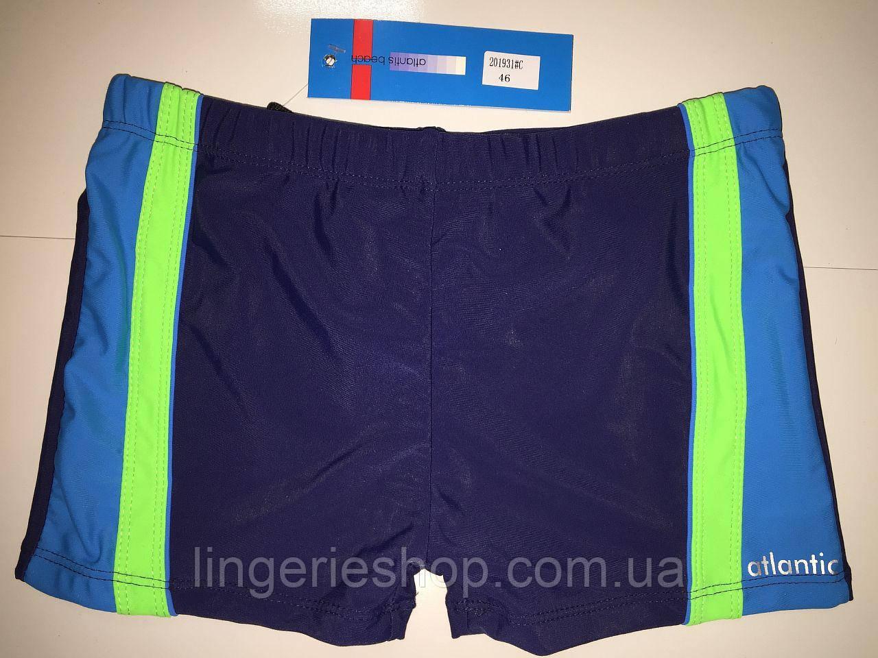 Плавки-шорты юниор Atlantic синий