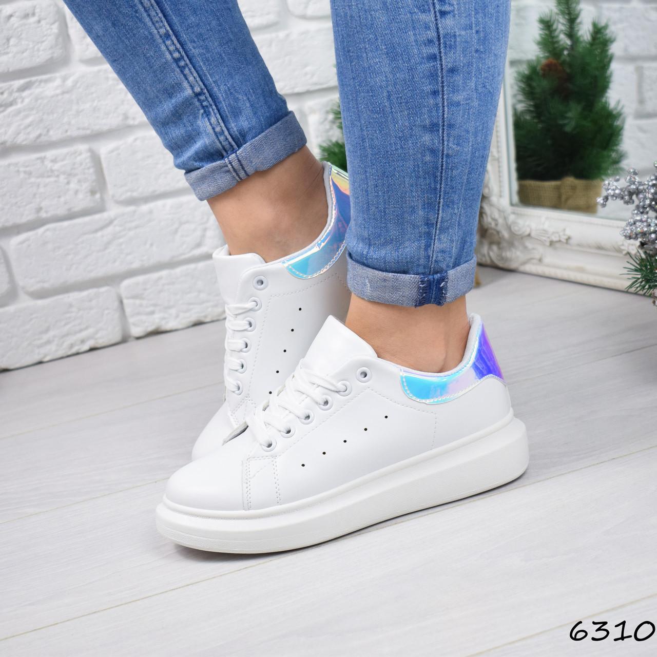 70673cb8 Кроссовки женские Fresh белый + мульти 6310, спортивная обувь ...