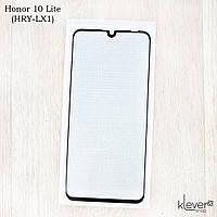 Защитное стекло для Honor 10 Lite (HRY-LX1), Full Cover, black silk