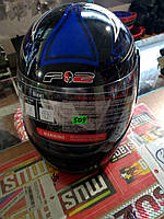Шлем интеграл F2 синий хищник