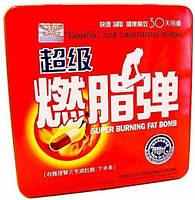 Капсулы Бомба для похудения красная Fat Bomb супер, фото 1