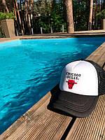 Кепка тракер Chicago Bulls / бейсболка Чикаго Булз