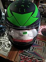 "Шлем интеграл ""F2"" matte‑green, хищник,"