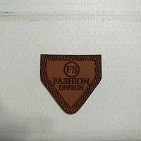 Бирка-лейба FASHION 19 25*25мм коричневая