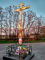 Поклонный крест из булата разных размеров