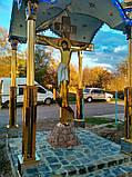 Поклонный крест из булата разных размеров 3м, фото 6