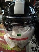 "Шлем открытый ""LS2"" (черный, глянцевый)"