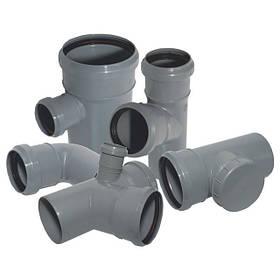 Труби для внутрішньої і зовнішньої каналізації